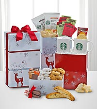 Starbucks® Reindeer Holiday Sampler Tower