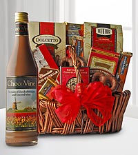 Season's Best Chocolate Lover's Wine & Gift Basket