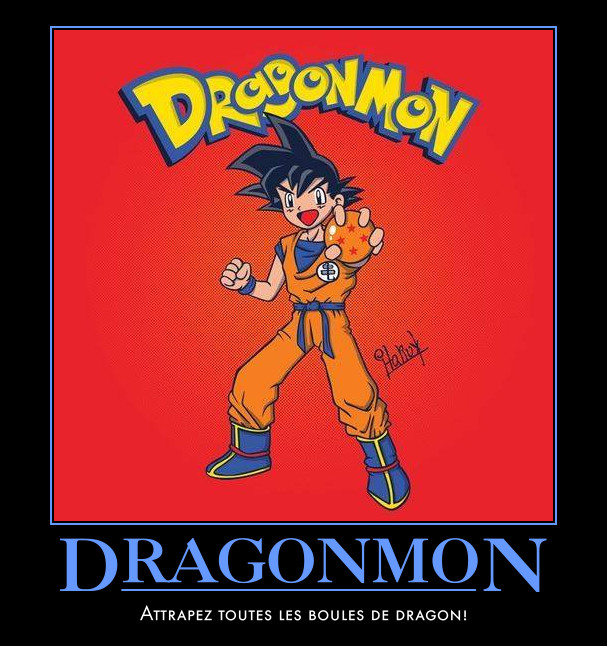 Dragonball_pokemon_son goku_mashup