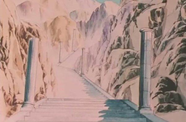 Escaliers-saint seya