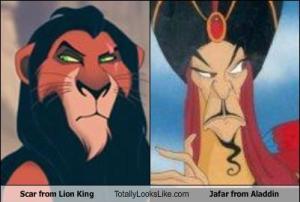 Scar totally looks like Jafar