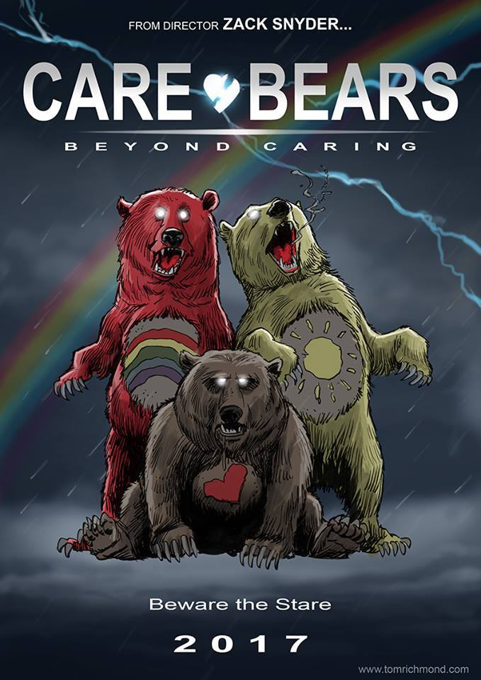 care bear_bisounours_zack Snyder