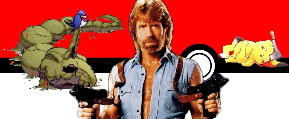 Chuck Norris destroys Pokemon Go [Motivateur]