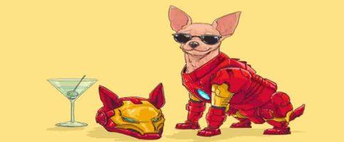 Les Super Héros Marvel Sont Chiens