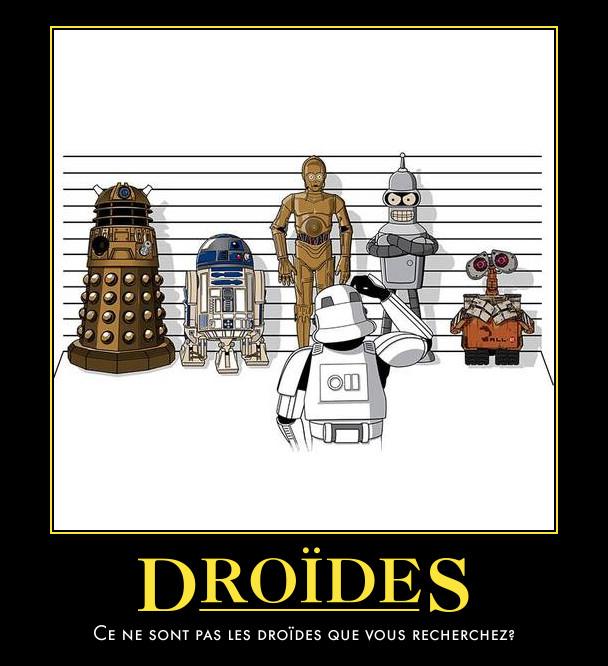 droides-star wars-motivator