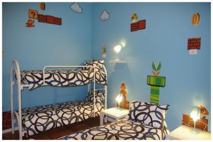 comics guesthouse un h tel pour les geeks. Black Bedroom Furniture Sets. Home Design Ideas