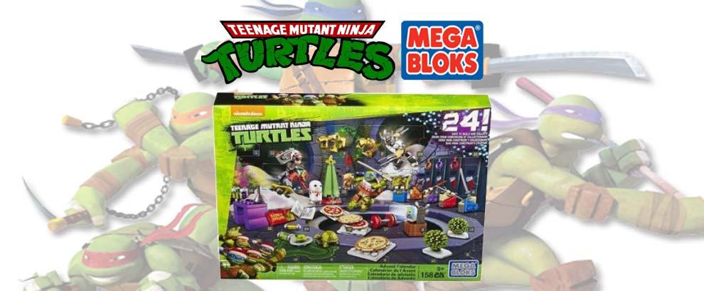Calendrier de l'Avent Mega Blocks TMNT- Jour 1, 2 et 3