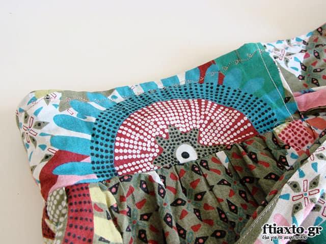 μεταποίηση από φουστάνι σε φούστα