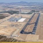 Los Vigilantes de Magasegur en el aeropuerto de Corvera (Murcia) a la calle y sin cobrar.