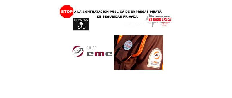 Grupo EME Seguridad en ¿quiebra técnica? Se cierra a ofrecer una solución digna para sus cerca de 2000 trabajadores