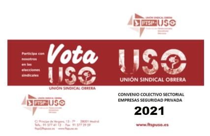 Convenio Colectivo Sectorial 2021