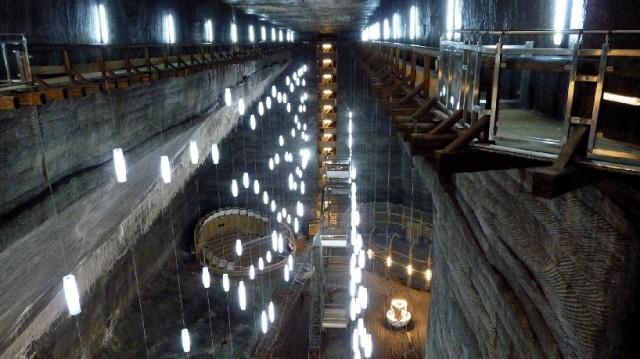 Salina Turda Museum ist ein altes Salzbergwerk in Siebenbürgen das nun zu einem spektakulären Museum umgebaut wurde
