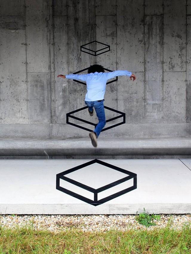 3D Street Art 11 640x853 Arte Urbana em 3D