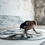 Physical Movement Translated into Symetrical Drawings 1