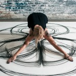 Physical Movement Translated into Symetrical Drawings 2