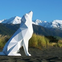 Amazing Geometric Animal Sculptures by Ben Foster