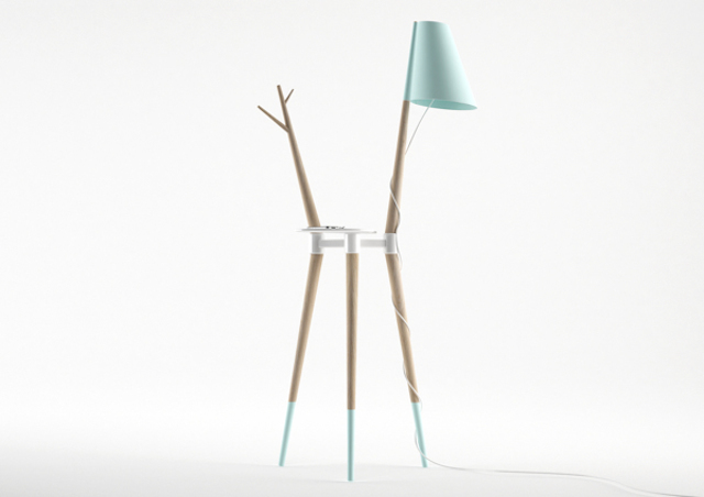 Trio Lamp by Nicola Conti