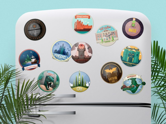 Movie GIF Magnets