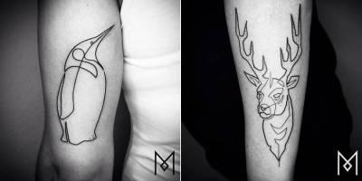 Linear Tattoos by Mo Ganji – Fubiz Media