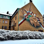 Beautiful and Graffiti Murals by Peeta-13