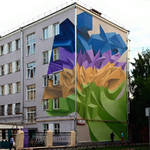 Beautiful and Graffiti Murals by Peeta-3