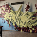 Beautiful and Graffiti Murals by Peeta-9