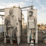 Gigantic Wall and Realistic Portraits in Arkansas-3
