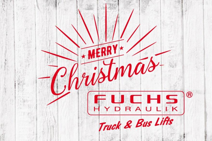 Fuchs-Hydraulik Frohe Weihnachten