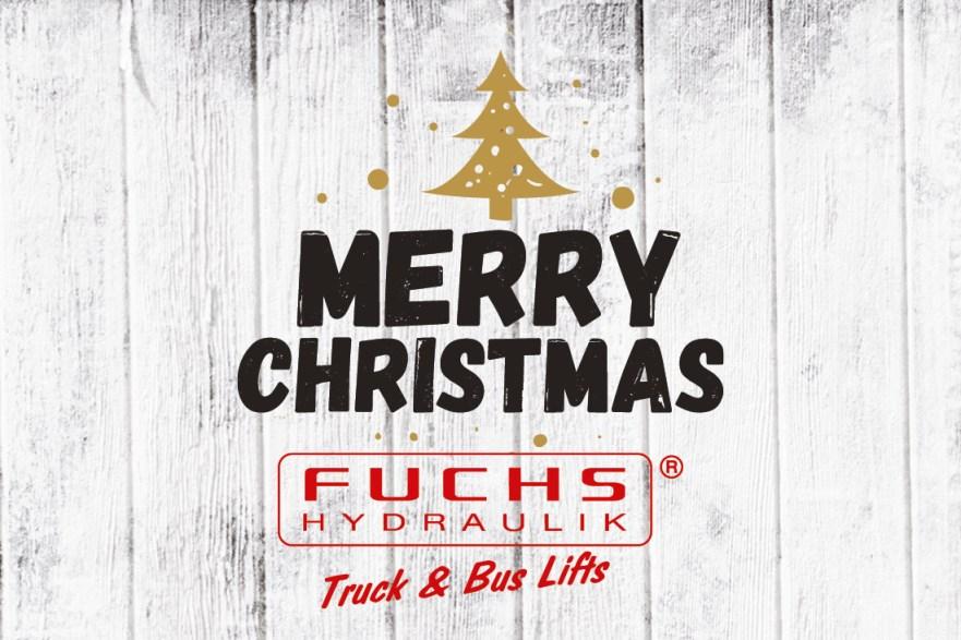 FUCHS Hydraulik Weihnachtsgruß