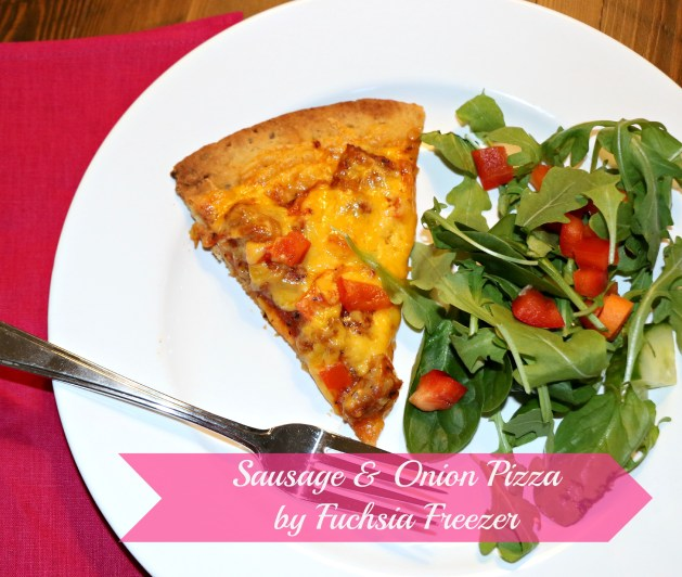 Sausage & Onion Pizza