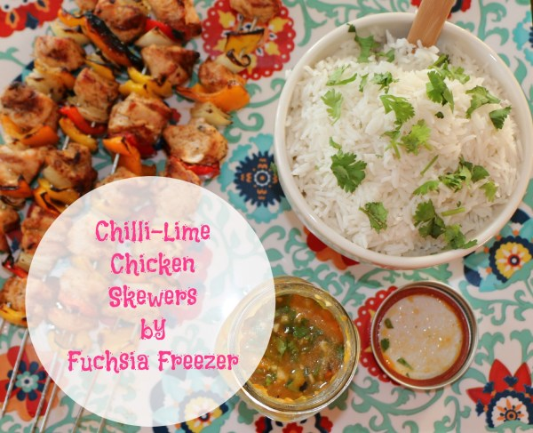Chilli-Lime Chicken Skewers