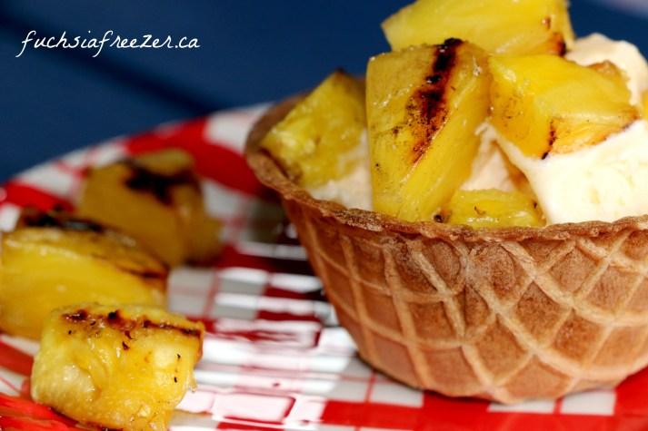 Pineapple Waffle Bowl