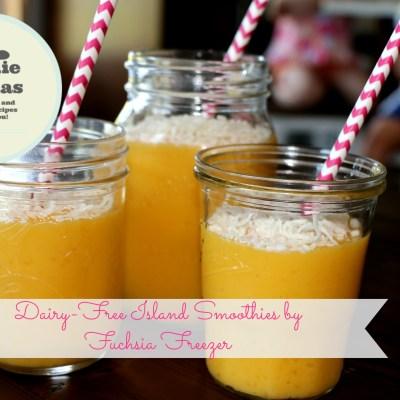 Dairy-Free Island Smoothie #FoodieMamas