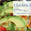 The Perfect Weeknight Meal: Chicken Burrito Bowls. Enjoy warm or cold!