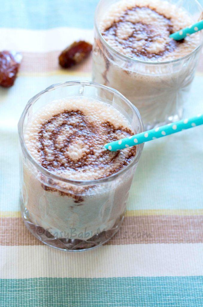 Chocolate & Date Shake