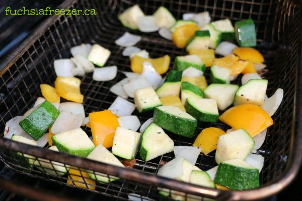 Grilled Vegetable Basket