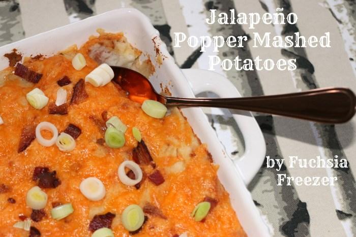 Jalapeño Popper Mashed Potatoes