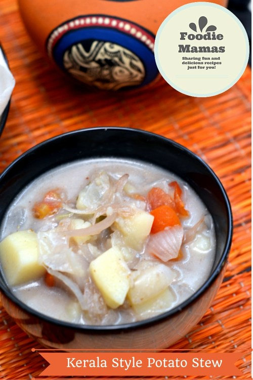 Kerala Style Potato Stew - #foodiemamas - Cooking Curries