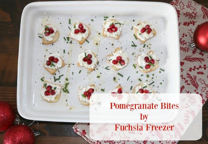Pomegranate Bites