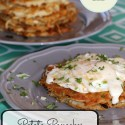 Potato Pancakes with Eggs and Mornay Sauce #FoodieMamas