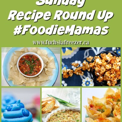 #FoodieMamas Super Bowl Round Up