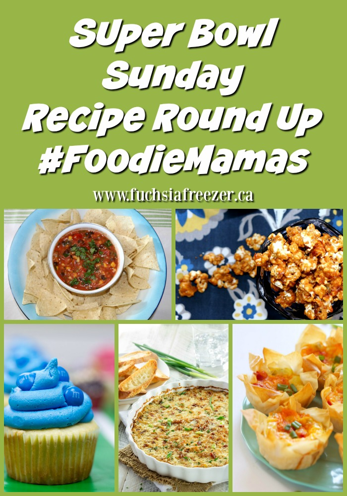Kick off your Super Bowl Sunday with a winning round up of awesome treats from the #FoodieMamas