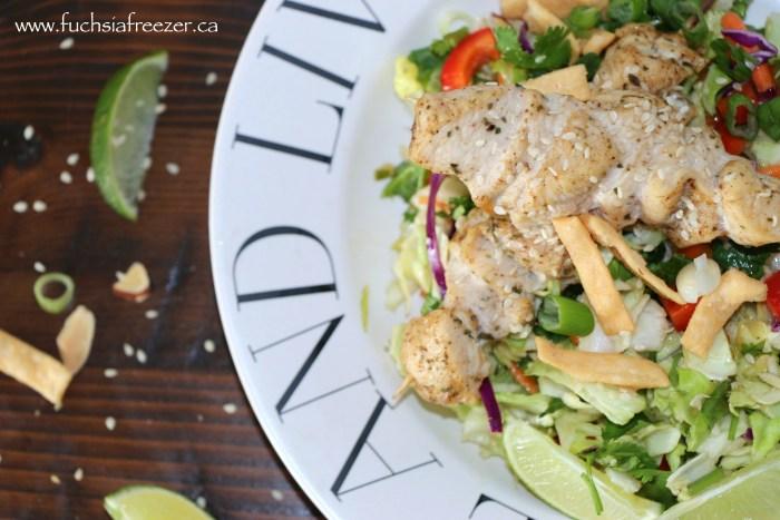 Asian Inspired Salad