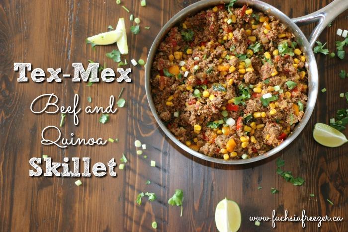 Tex Mex Beef & Quinoa Skillet
