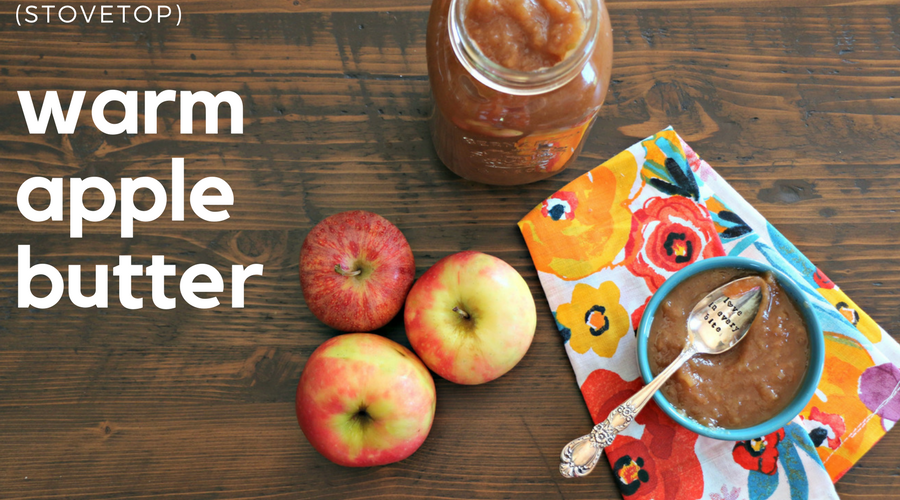 Stovetop Apple Butter