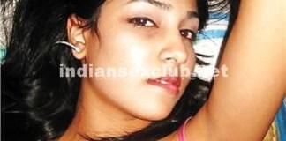 Naughty Indian Girl Taking Naked selfies