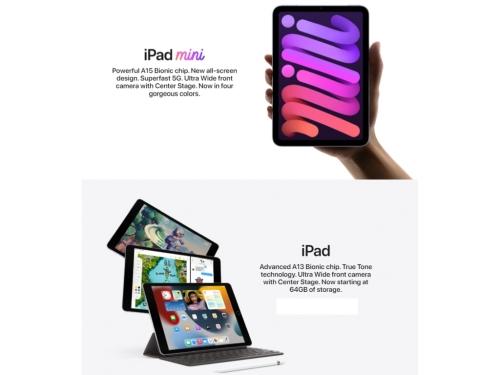 Apple brings the new iPad and iPad mini