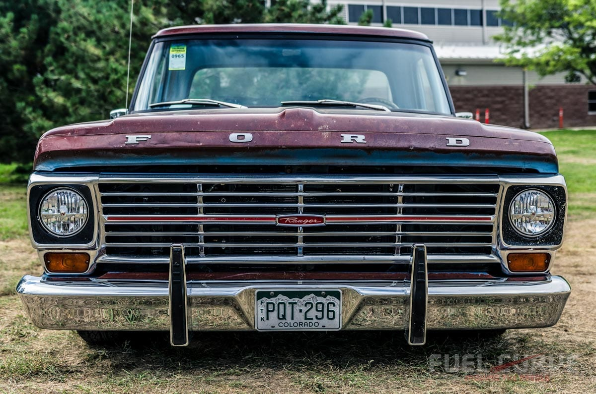 2004 Crown Victoria Front End 1969 Ford F 100