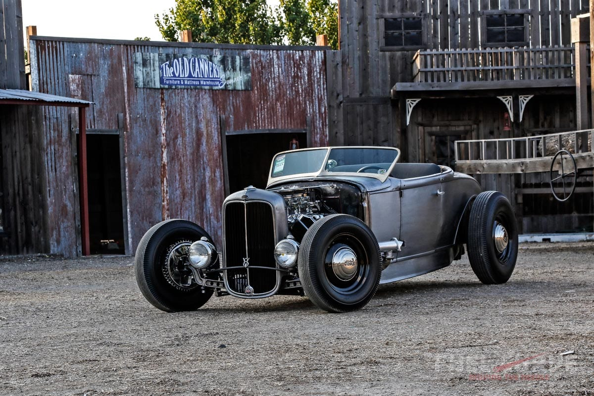 1931 Ford Roadster Neil Bare Metal Beauty Fuel Curve