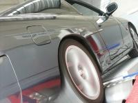 Vehicle on dynamometer